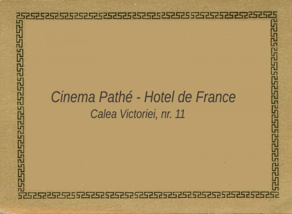 Cinema Pathé - Hotel de France